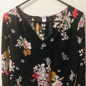 Nice floral printing blouse
